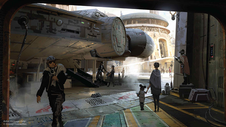 Names Announced for the Star Wars: Galaxy's Edge Attractions!