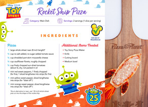 Celebrate National Pizza Party Day with Fun Pizza Recipes from Pixar's Toy Story's 25th Anniversary