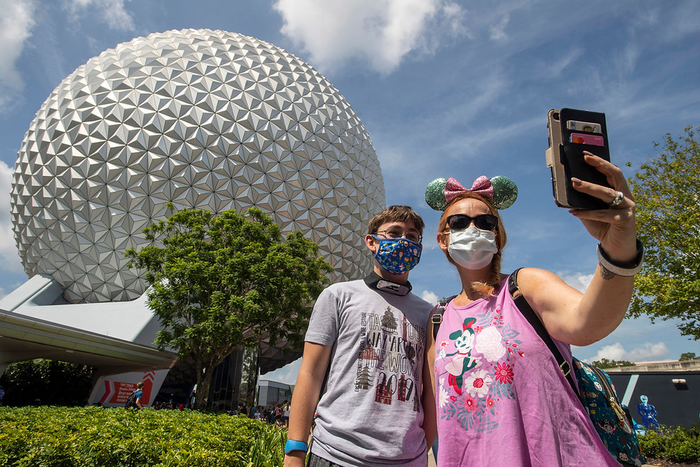 Disney Asks Guests to Reschedule Vacations If They Cannot Comply With the Face Coverings Policy