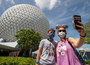 Walt Disney World Prohibits Face Coverings with Valves