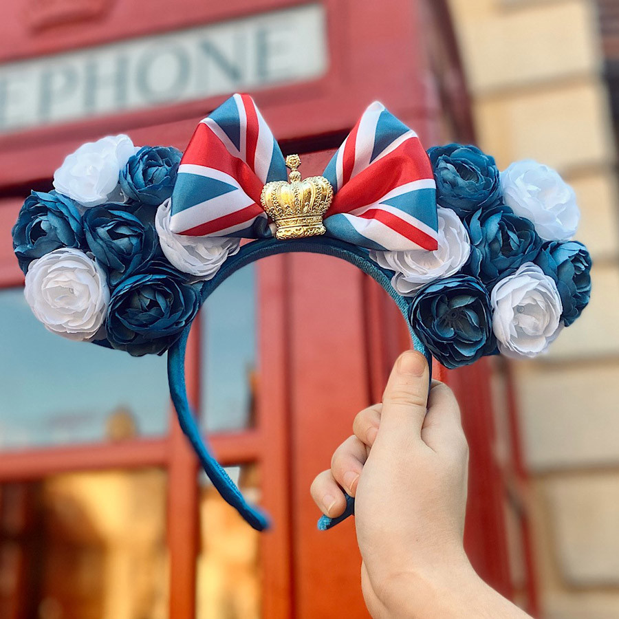 New United Kingdom Minnie Headband at Epcot