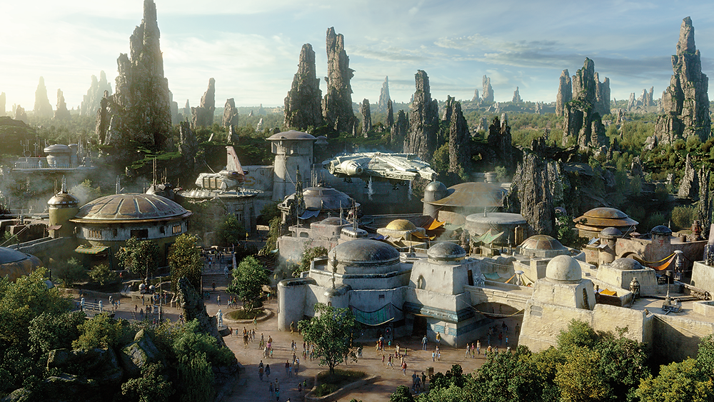 #DisneyParksLIVE to Stream the Dedication Ceremony of Star Wars: Galaxy's Edge at Disneyland Resort