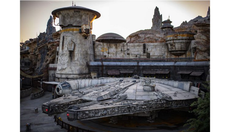 You Can Operate the Millennium Falcon on the New Smugglers Run Ride at Star Wars: Galaxy's Edge!