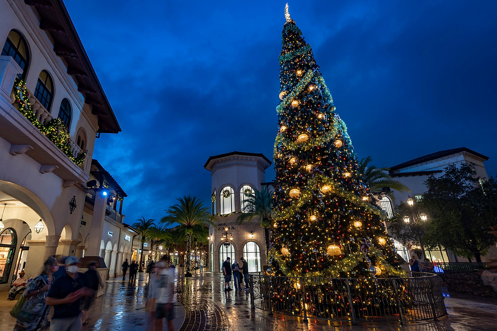 Don't Miss The Disney Springs Christmas Tree Stroll