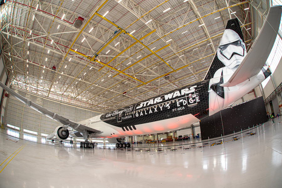 Disney and LATAM Airlines Unveil 'Stormtrooper Plane' to Celebrate Star Wars: Galaxy's Edge