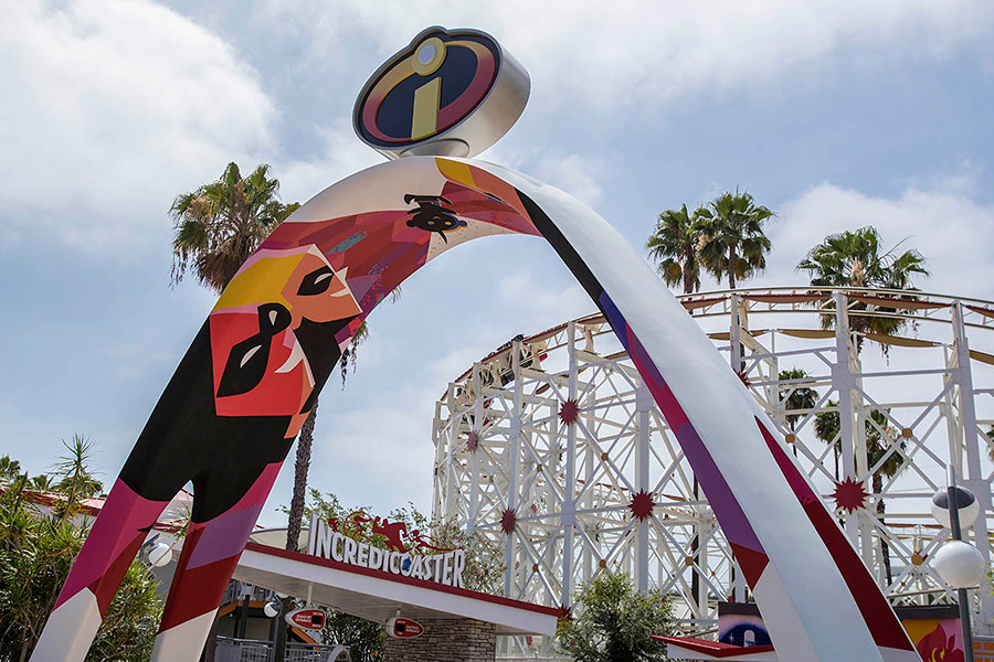 Take a Virtual Ride on the Incredicoaster at Disneyland Resort