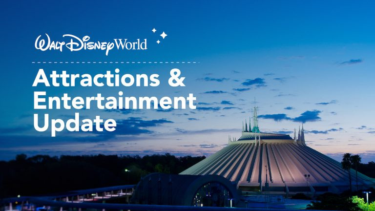 List of Attractions & Entertainment Available When Walt Disney World Reopens