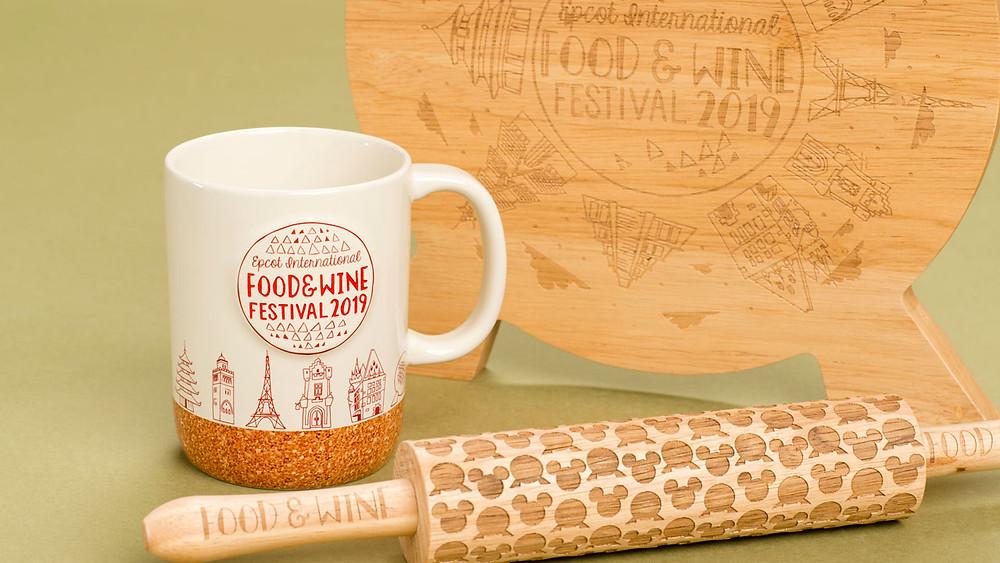 New 'Taste Your Way Around the World' Merchandise at 2019 Epcot International Food & Wine Festival