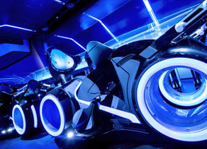 Construction Milestone Reached for the Tron Attraction Coming To Magic Kingdom