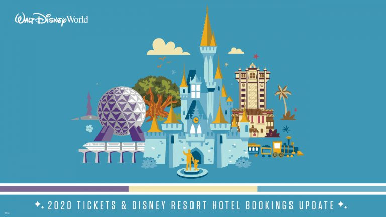 Walt Disney World Theme Park Ticket Sales and Hotel Bookings for 2020 Opens Tomorrow, July 9!