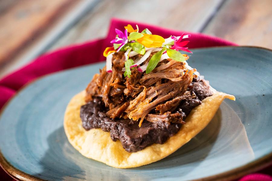 Epcot Food & Wine Festival Mexico Short Rib Tostada