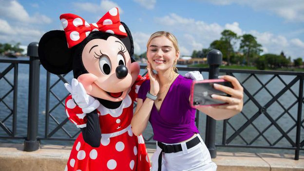 Meg Donnelly Kicks off the Disney du Jour Dance Party at the Epcot Food & Wine Festival This Weekend