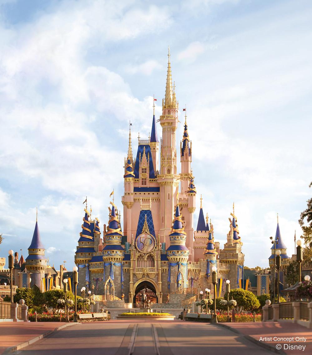 Walt Disney World's 50th Anniversary Details Announced!