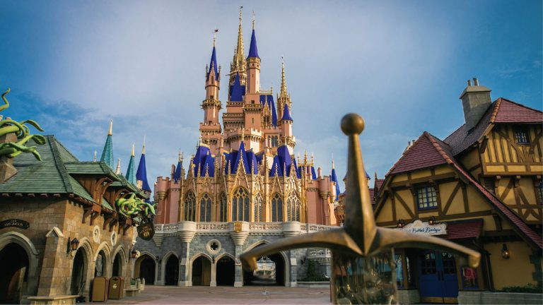 Cinderella Castle's Makeover Nears Completion