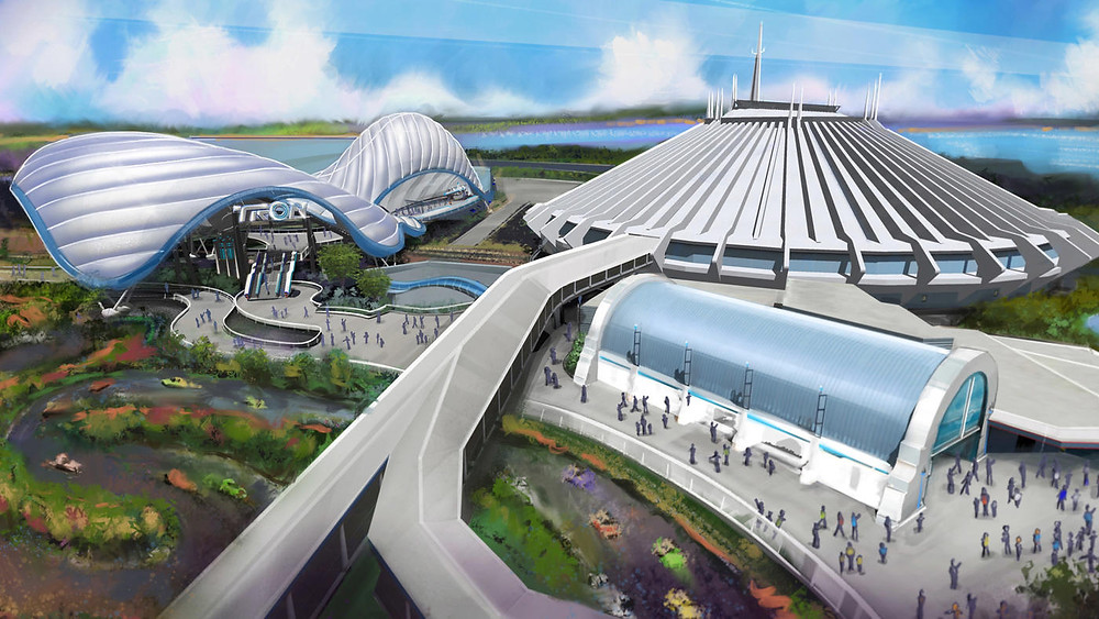 UPDATE: Tron Attraction Coming to Magic Kingdom Park