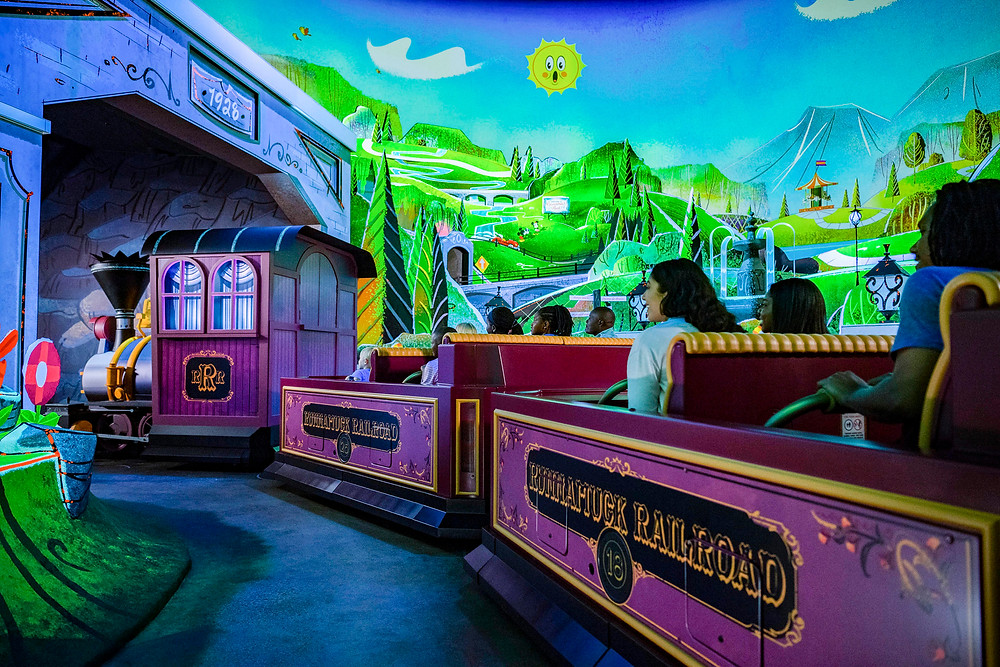 A Look Inside Mickey & Minnie's Runaway Railway!