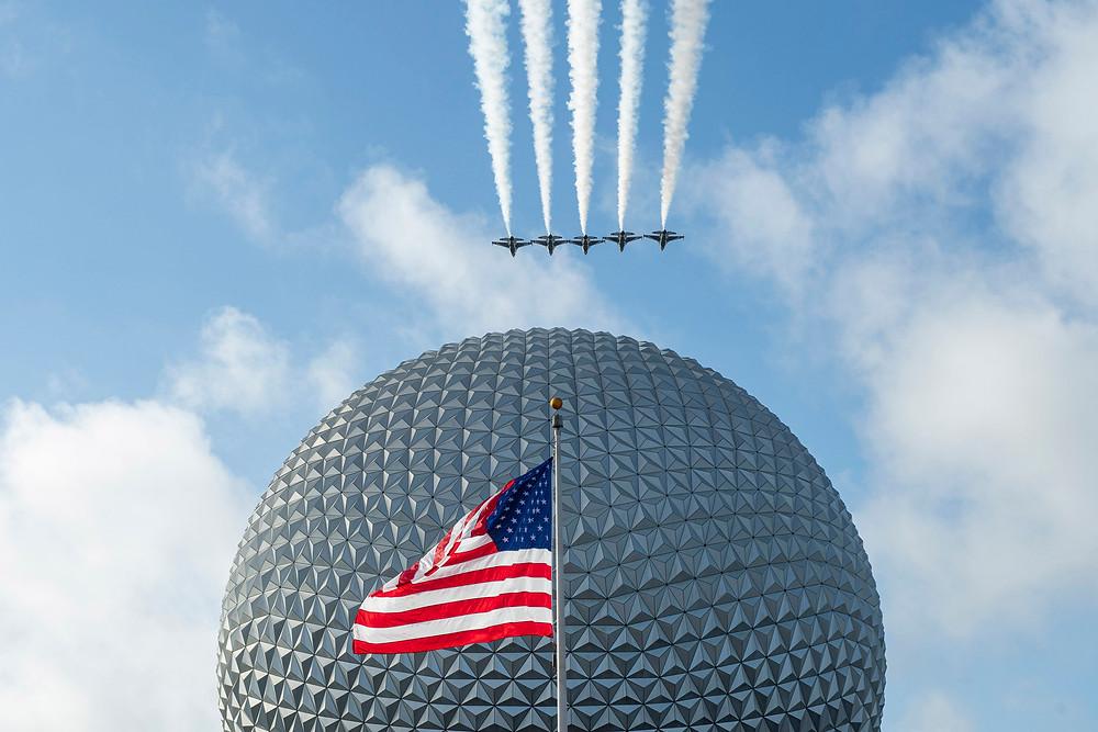 Disney World Honors Veterans Day & Salutes Veteran Cast Members