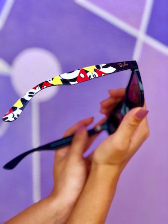 Get a First Look at the New Ray-Ban Sunglasses Featuring Mickey Mouse!