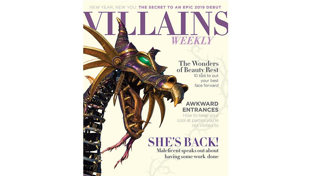 Maleficent Returns to the Festival of Fantasy Parade at Walt Disney World Resort