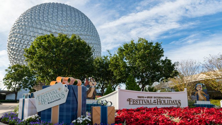 Celebrate at the The Taste of EPCOT International Festival of the Holidays Now Through December 31!