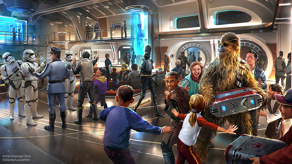 Reservations for Star Wars: Galactic Starcruiser to Open Later this Year!