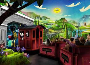 VIDEO: Special Look at Mickey & Minnie's Runaway Railway Coming Soon to Walt Disney World
