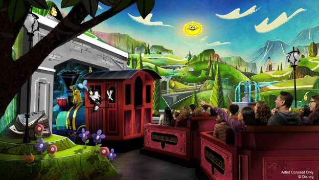 Just Announced: Mickey & Minnie's Runaway Railway Set to Open March 4, 2020 at Hollywood Studios