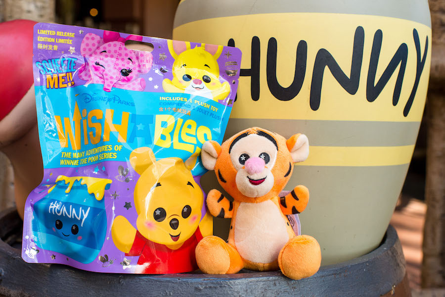 New! Wishables Inspired by the Many Adventures of Winnie The Pooh Attraction