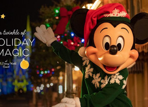 The Holiday Season Starts November 6 at Walt Disney World