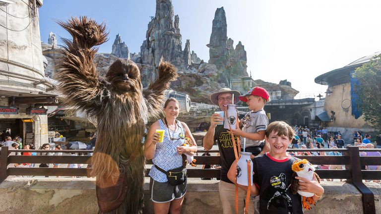 Millennium Falcon: Smugglers Run Welcomes 1 Millionth Rider at Galaxy's Edge in Disneyland Resort