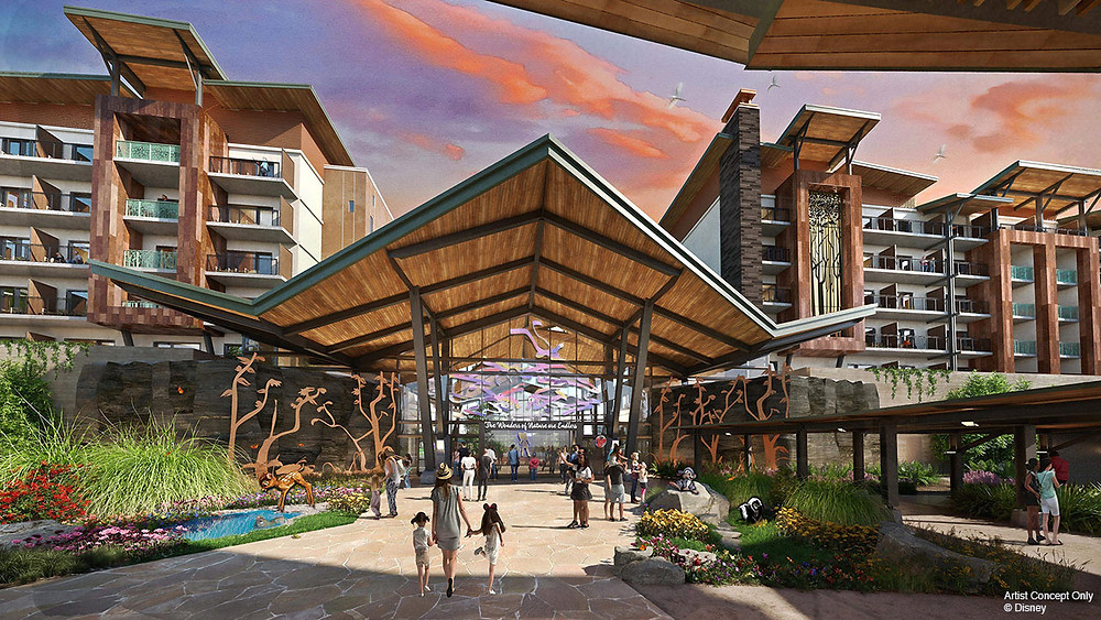 Reflections: A Disney Lakeside Lodge Will Have a Princess and the Frog Themed Restaurant