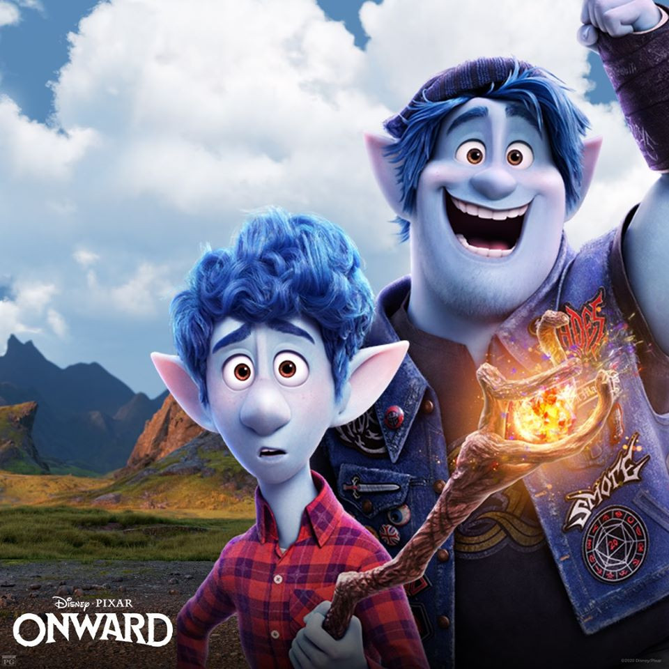 Surprise!  Pixar's Onward is Available Tonight for Digital Download and Available on Disney+ April 3