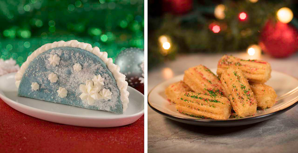 Holiday Treats at Magic Kingdom!