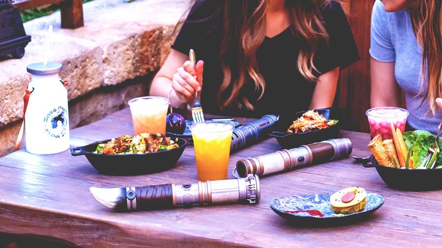 Intergalactic Food & Beverage Lands at Star Wars: Galaxy's Edge at Walt Disney World August 29, 2019