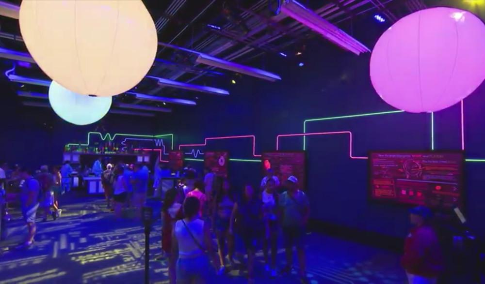 Epcot Food & Wine Festival Light Lab
