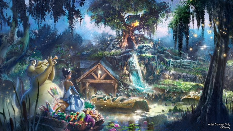 BREAKING: Splash Mountain to be Reimagined as 'The Princess and the Frog'