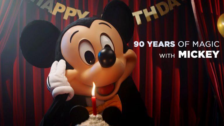 Video: Disneyland Paris Celebrates Mickey's 90 Years of Magic