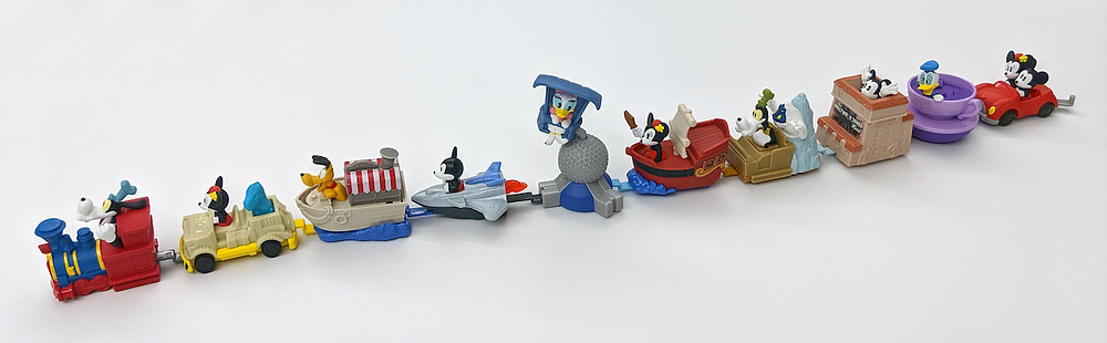 New Line of Disney Happy Meal Toys at McDonald's