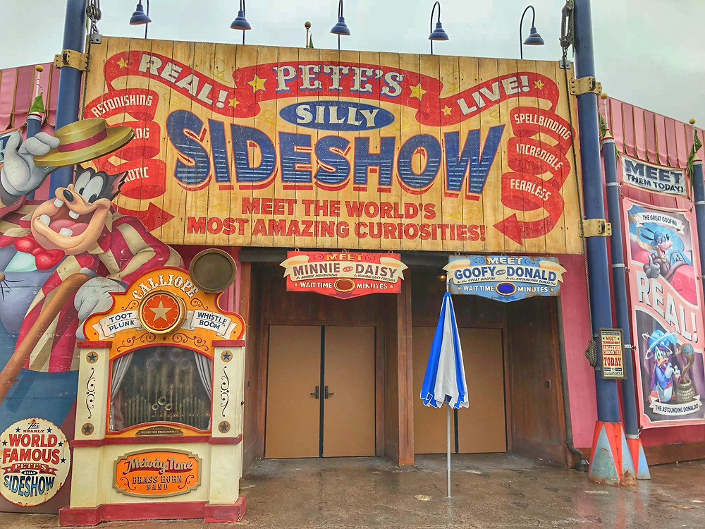 Big Top Souvenirs & Pete's Silly Side Show Closed - Possible Fire