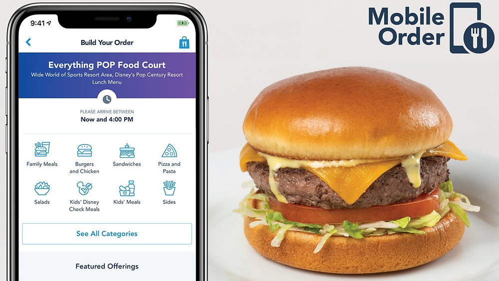 Mobile Order Food Service Coming to Additional Restaurants at Disney Resorts