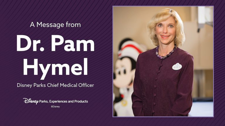 Update About Disney Parks from Disney's Chief Medical Officer
