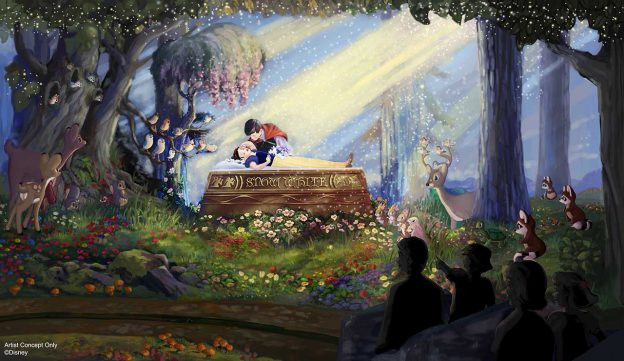 New Enhancements Coming to Snow White's Scary Adventures at Disneyland Park