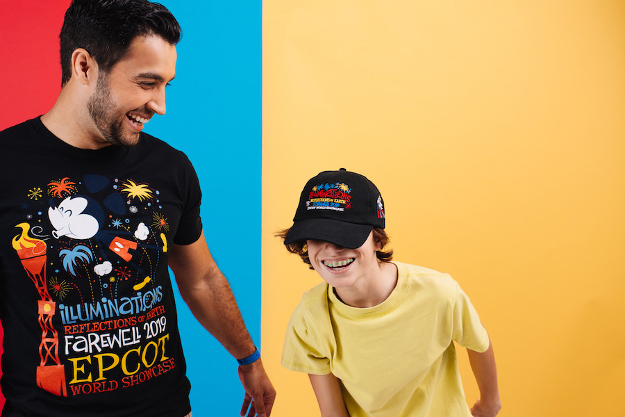 New Limited Release Merchandise Celebrates 'Illuminations: Reflections of Earth' at Epcot