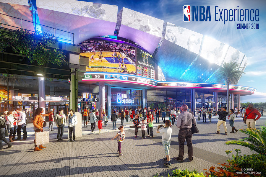 Tickets Now Available for the New NBA Experience at Disney Springs