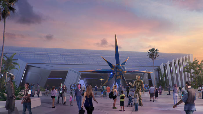 First Look: Epcot's Guardians of the Galaxy Attraction Ride Vehicle