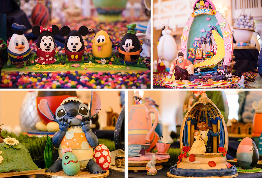 Photo Tour of the Easter Egg Displays at Walt Disney World