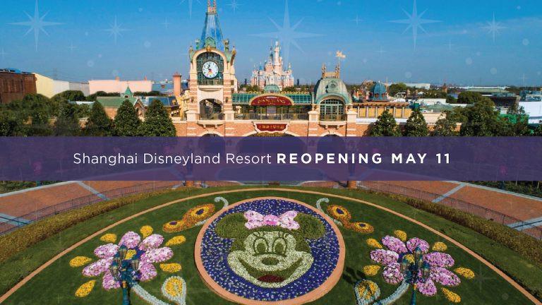 Shanghai Disneyland Begins Phased Reopening on May 11!