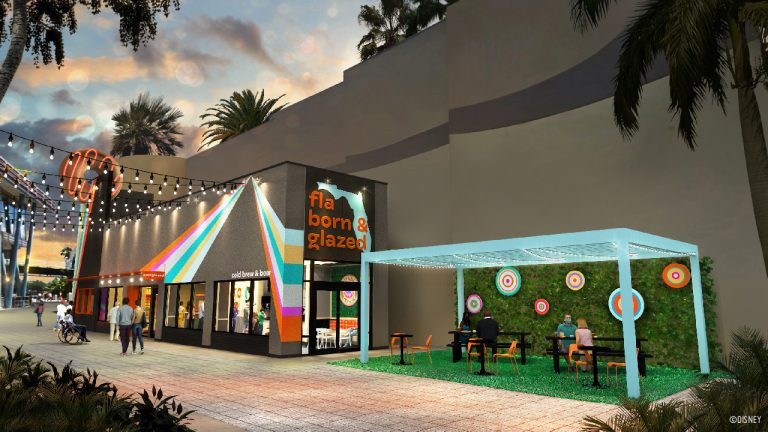 Everglazed Donuts & Cold Brew Coming Soon at Disney Springs