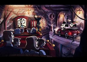 New Concept Art Revealed for Mickey & Minnie's Runaway Railway