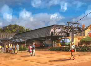 New Concept Art of the Disney Skyliner Transportation System